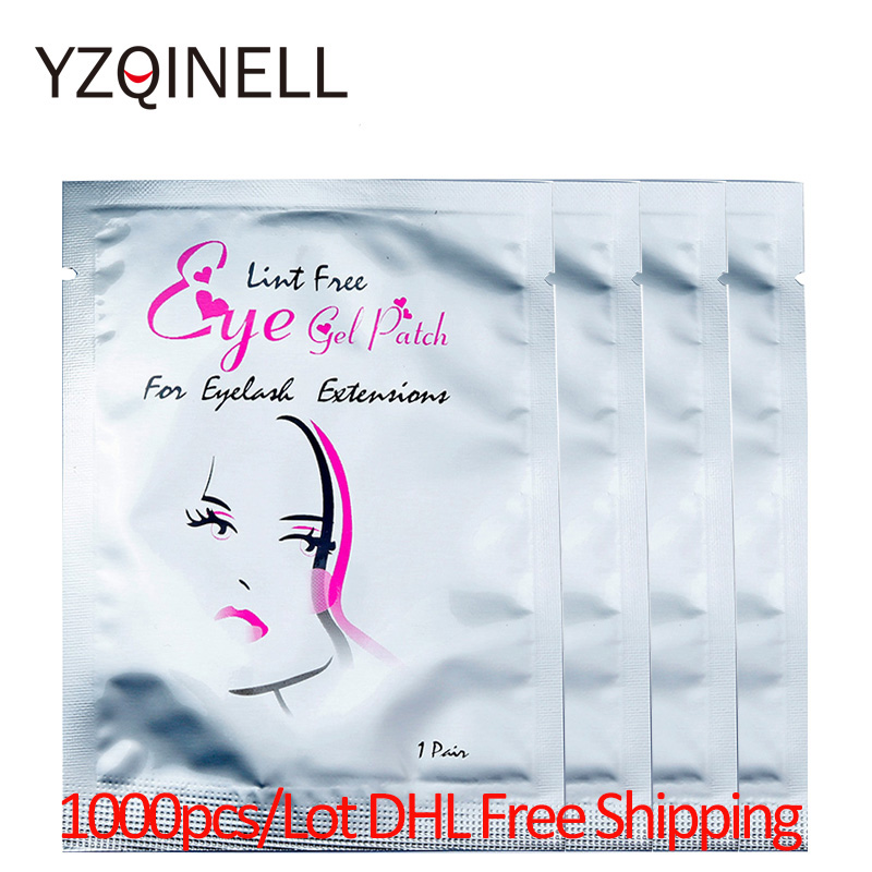 Wholesale 1000pairs/Lot Eyelash Pads Under Eye Patches for Eyelash Extension False Eyelash Patches Eye Eyelash Extension ToolsWholesale 1000pairs/Lot Eyelash Pads Under Eye Patches for Eyelash Extension False Eyelash Patches Eye Eyelash Extension Tools