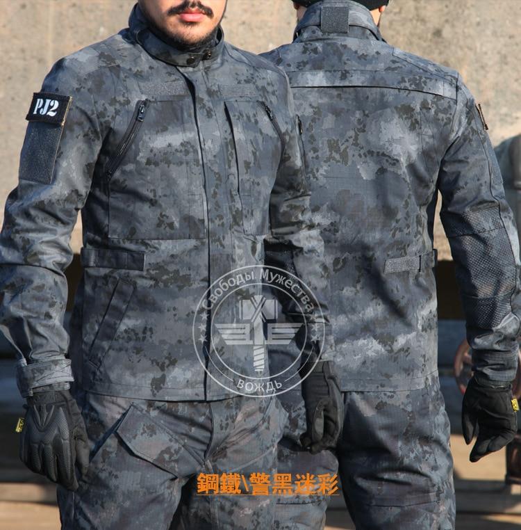 Chefs Wargame Paintball Combat uniforme costume militaire chasse chemise & pantalon Airsoft Camouflage chasse vêtements M-XXL 8