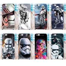 TPU Modello Un Sacco Di Stormtrooper di Star Wars Per Apple iPhone 4 4 S 5 5C SE 6 6 S 7 8 Plus X Galaxy Gran Core II Primo Alpha(China)