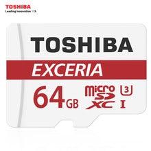 Toshiba micro sd karte 64 gb sdxc u3 90 mb/s 4 karat speicherkarte flash memory microsd für smartphone offiziellen überprüfung
