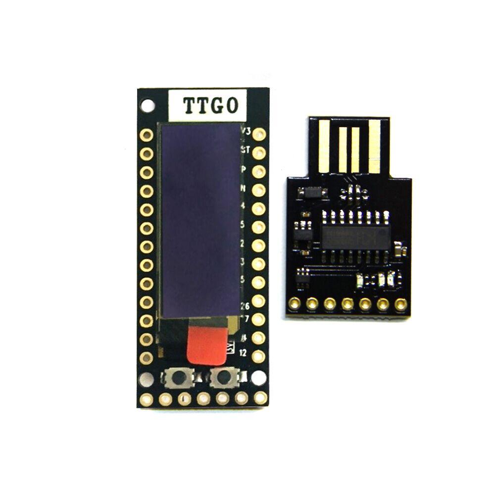 TTGO TQ ESP32 0.91 OLED WIFI <font><b>bluetooth</b></font> Module <font><b>IoT</b></font> Prototype Board for Arduino