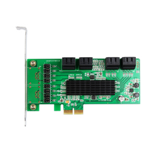 8 Port Internal SATA 3.0 Support 1.5Gb/3Gb/6Gb PCIe PCI-Express Expansion Card Good Quality Best Price