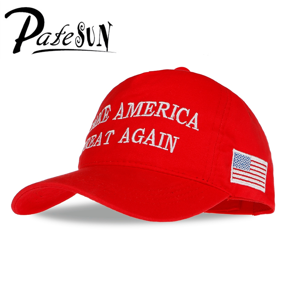 PATESUN Hot Make America Great Again Baseball Caps Women President Caps Snapback Dad Hats Merry Chatistmas