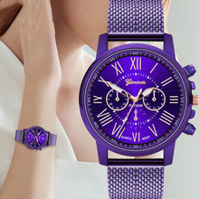 In stock Geneva Luxury Women Lady Quartz Watches