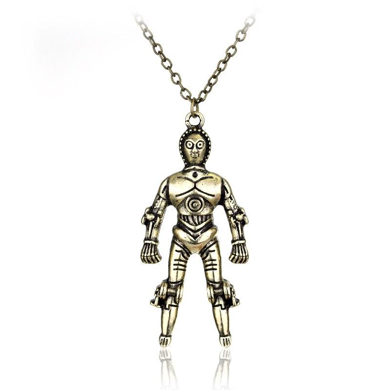 Star Wars R2D2 Necklace/ Robot Charm Necklace Star Wars Geek Fan gift Jewellery 3