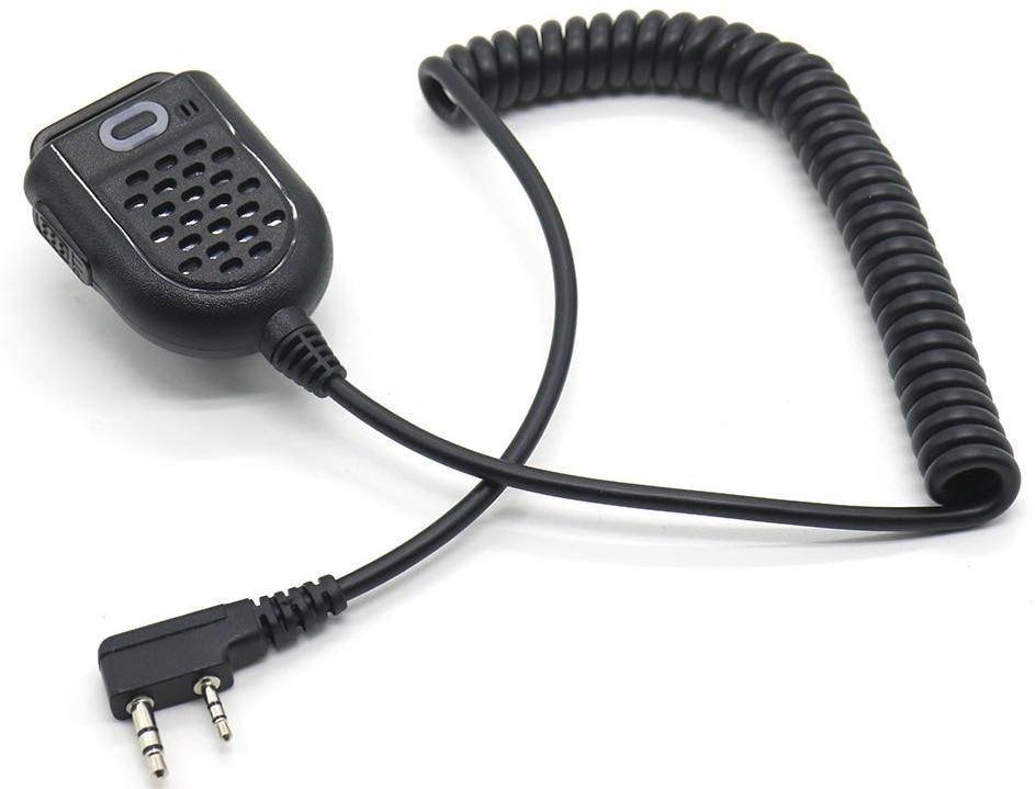 Neue Ankunft Walkie Talkie Mini Tragbare MIKROFON Hand Mikrofon Schulter Lautsprecher für TYT PUXING Baofeng uv-5r 888 s K Typ