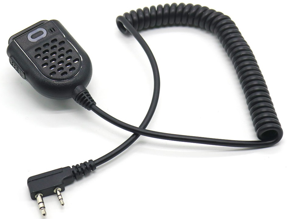 New Arrival Walkie Talkie Mini Portable MIC Hand Microphone Shoulder Speaker for TYT PUXING Baofeng uv-5r 888s K Type