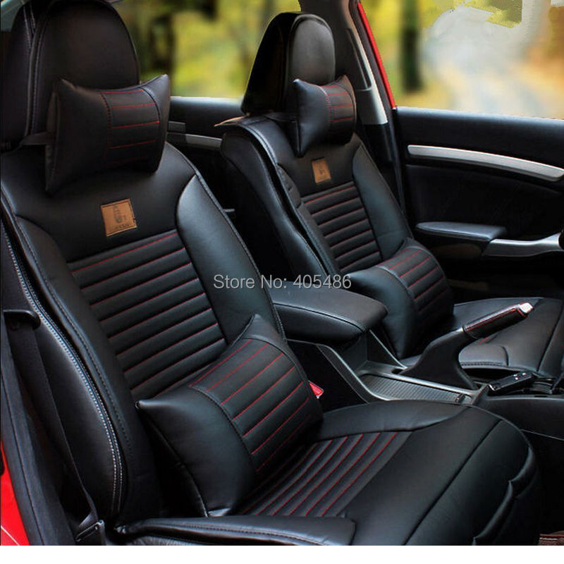 10pcs Front Rear Car Seat Cushion Cover For Jeep Cherokee