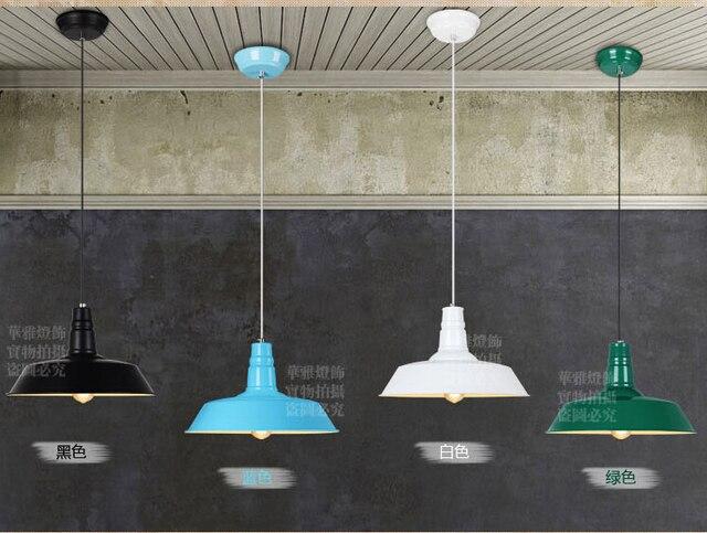 Designer lampade a sospensione loft nord stile europeo rurale