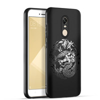 Luxury Dragon Cloud Painting For Xiaomi Redmi Note 4x Note 4 Case Soft Silicon Chinese Style