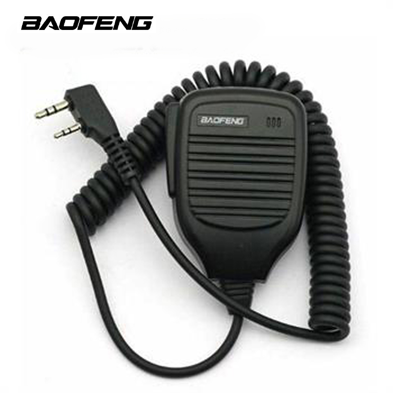 Baofeng Speaker 2 Pin BF-S112 3.5MM to 2.5MM Handheld Two Way Walkie Talkie Radio Speaker Mic UV-5R 888S