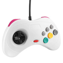 High quality Classic Saturn System Style USB Handheld Gamepad Wired Joystick Joypad Game Pad
