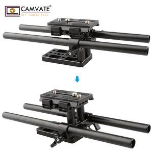 Image 3 - CAMVATE クイックリリースマウントベース Qr プレートマンフロット標準付属品 C1437 カメラの撮影アクセサリー