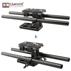 Image 3 - CAMVATE Quick Release Mount Base QR Plate for Manfrotto Standard Accessory C1437 camera photography accessories