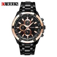6 Colors 1pc Fashion Watches Stainless Steel Brand Boys Wristwatches Man Fashions Clock Analog Quartz Dress