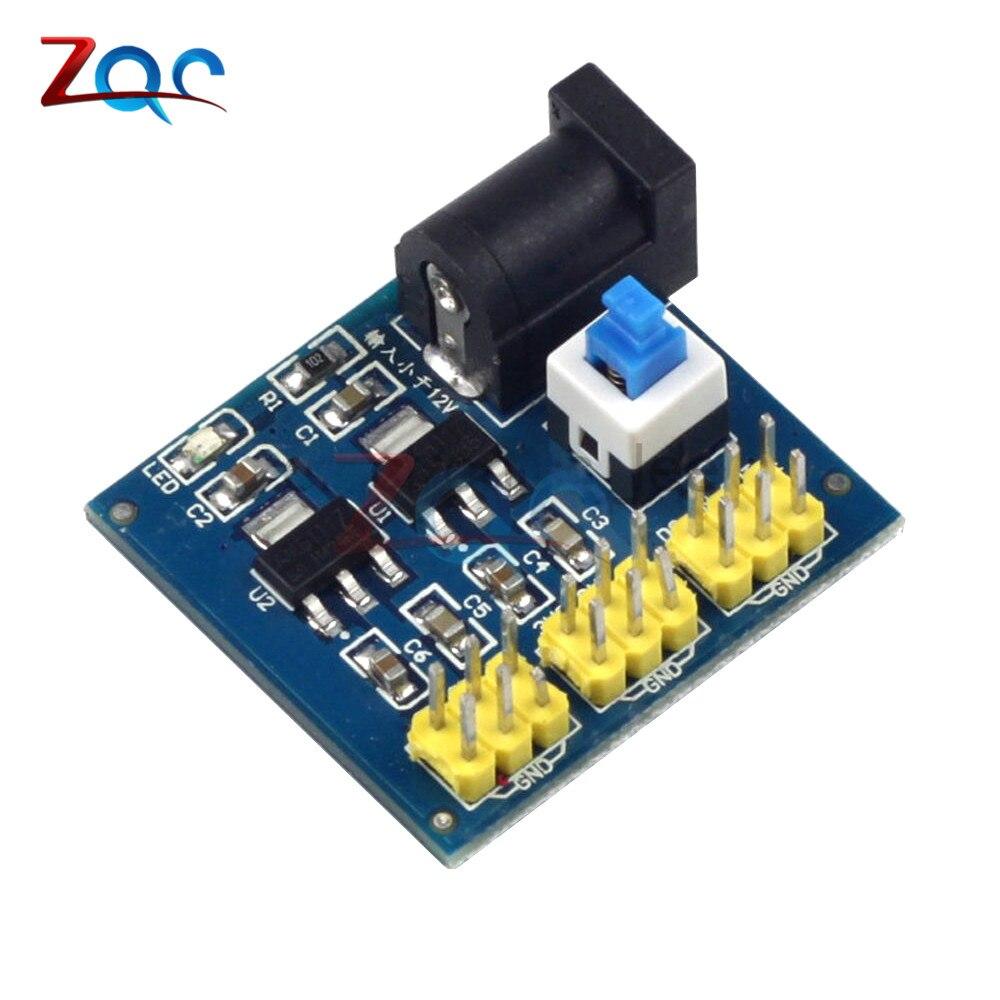3.3V 5V 12V Multi Output Voltage Conversion DC-DC 12V to 3.3V 5V 12V Step Down Buck Power Supply Module For Arduino