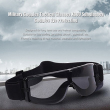 Military eye Goggles Tactical Glasses Airsoft X800 Sunglasses Eye Glasses Goggles Motor Eyewear Cycling Riding Eye Protecting
