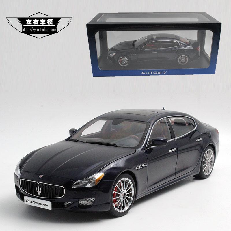 brand new 1/18 scale yj car model toys maserati quattroporte gts