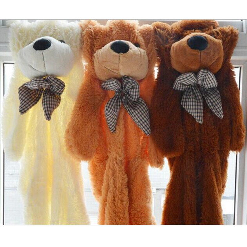 200CM Giant Teddy Bear Skin Coat Soft Adult Coat Plush Toys Wholesale Price Kids Birthday Christmas Gift Three Colors Hot Sale  цена и фото