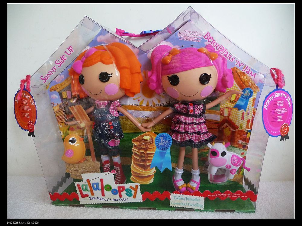 Lalaloopsy Doll Sunny Side Up Berry Jars N Jam Sisters Free