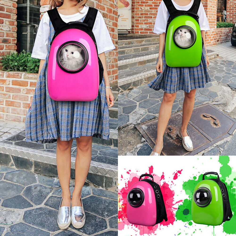 Fashion Practicable Dog Cat New Backpack Pet Carrier Astronaut Capsule Breathable Outdoor Travel Bag Cat Carriers Backpack Bags