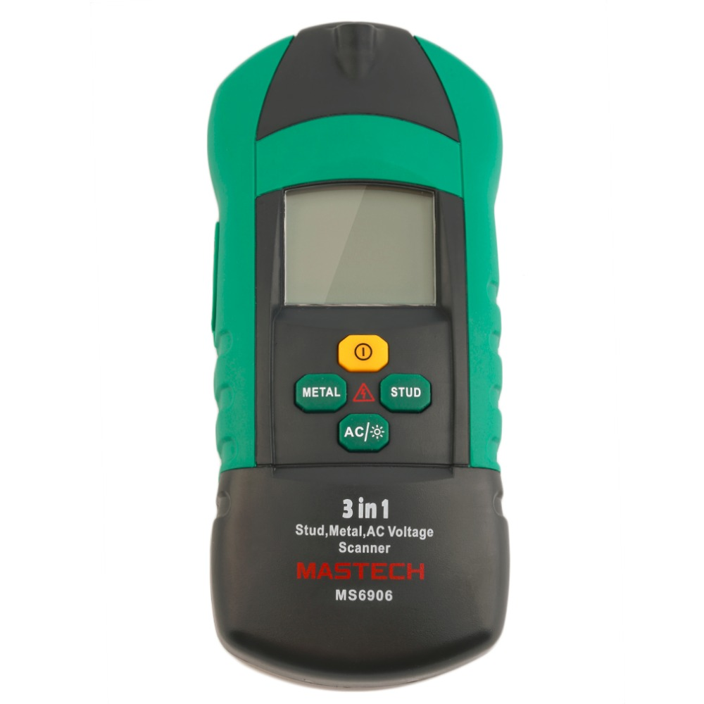 MASTECH MS6906 Multi-function Stud Metal AC Voltage Scanner Detector Tester Thickness Test Fully Automatic Operation  цены