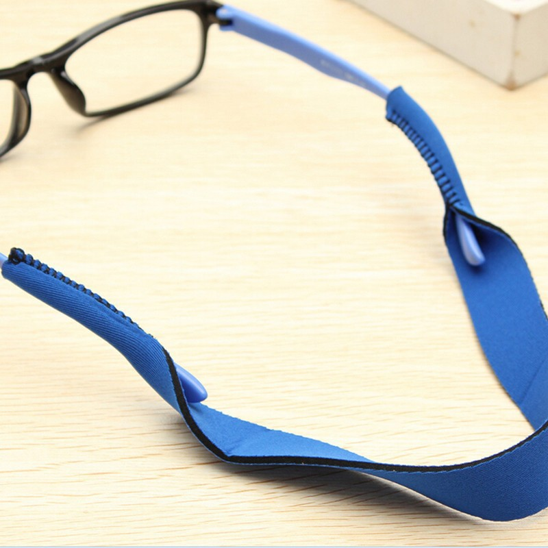 54f4aa9ab8e 40.8cm Neoprene Spectacle Glasses Anti Slip Strap Stretchy Neck Cord ...
