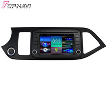 Topnavi 8″ Quad Core Android 4.4 Car DVD Multimedia Player for KIA Morning GPS Navigation Radio Audio Stereo Dashboard PC