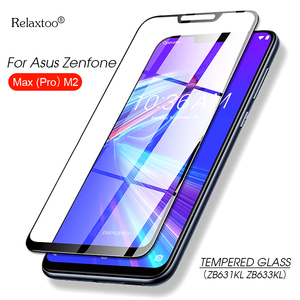 Image 1 - tempered glass For Asus Zenfone Max Pro M2 ZB631KL ZB633KL Cover Protective glass for zenfone Max pro m2 zb631kl Safety film