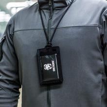 OneTigris армейский веер тактический Чехол для ID карты и шейный ремешок и органайзер для кредитных карт ID держатель для карт высококачественный нейлон