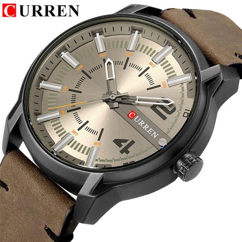 CURREN 8306 Uhr Sport Männer Uhren Top-marke Luxus Berühmte Militär Männlichen Armbanduhr Herren Uhr Mann Hodinky Relogio Masculino