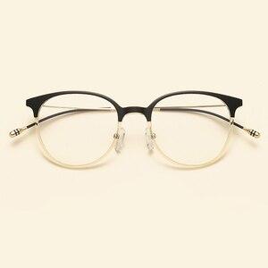 Image 3 - NOSSA Brand Ultralight TR90 Optical Glasses Frames Korea Style Fashion Casual Eyewear Frames Men Women Myopia Eyeglasses Frame