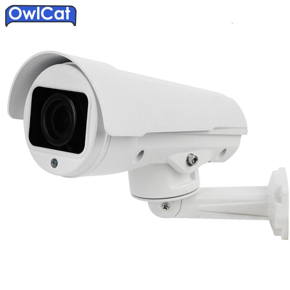 2016 New Special Offer Cmos Owlcat 1080p 2mp 4mp Full Hd Bullet Ip Camera Ptz 4x 10x Zoom Auto Focus Network Outdoor P2p Onvif hikvision ds 2de7230iw ae english version 2mp 1080p ip camera ptz camera 4 3mm 129mm 30x zoom support ezviz ip66 outdoor poe