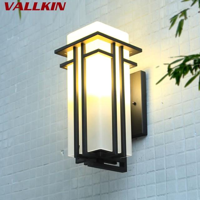Modern Outdoor Lighting Wall Lamp Waterproof Lights Porch Light Up And Down Fixtures Matte