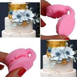 Fondant moldes bolo decoração estêncil confeitaria pasta de açúcar 3d bolo de cereja molde de silicone moldes ferramentas de cozimento suprimentos 3 modle