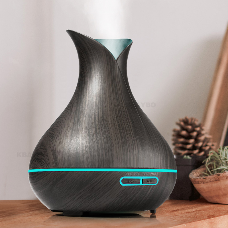 New Design Air Humidifier Essential Oil Diffuser wood grain Aromatherapy diffusers Aroma Mist Maker 24v led light for Home автоинструменты new design autocom cdp 2014 2 3in1 led ds150