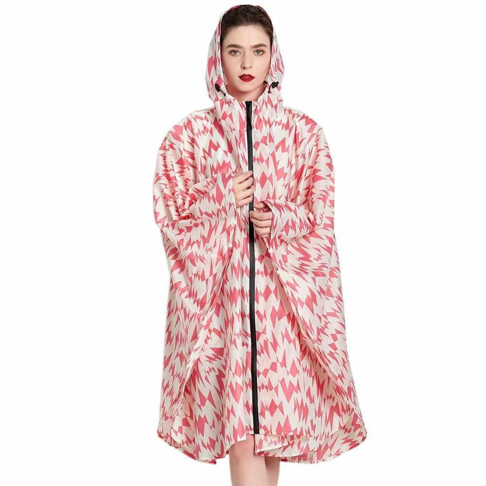 Водонепроницаемый пончо и накидки одежда для дождливой погоды на открытом воздухе рюкзак плащ-дождевик плащ Капа De Chuva Chubasqueros Mujer R5C109