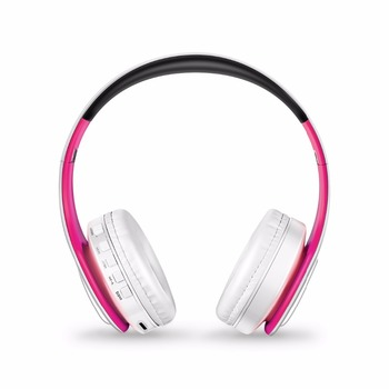 20 Hours Bluetooth Headphones Wireless Stereo Headsets with Mic TF Card Slot Compatible for all bluetooth Acoustic Devices 3