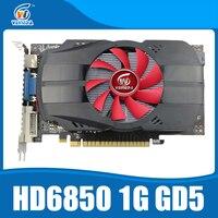 Originele grafische kaarten veineda HD6850 1 GB GDDR5 grafische kaart HDMI DP DVI poort voor Radeon Sterker dan R7 350, HD6750, GT740