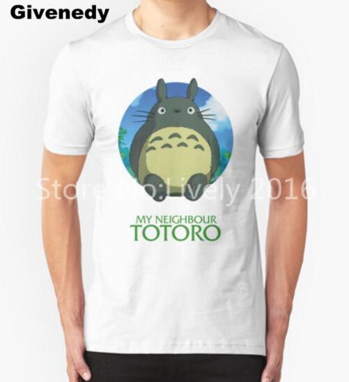 FOR YOU Neighbour Totoro T Shirt Men Brand Japanese anime Short Sleeve Print T shirt free shipping