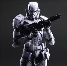 Star War Imperial Stormtrooper Black Knight Darth Vader Play Arts  26cm PVC Action Figure Doll Toys Kids Gift