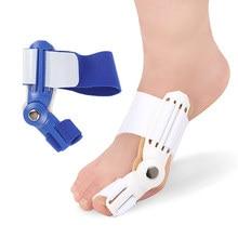 1 шт., ортопедическая шина для большого пальца, выпрямитель, корректор, облегчение боли в ногах, коррекция вальгусной деформации, устройство для педикюра, уход за ногами