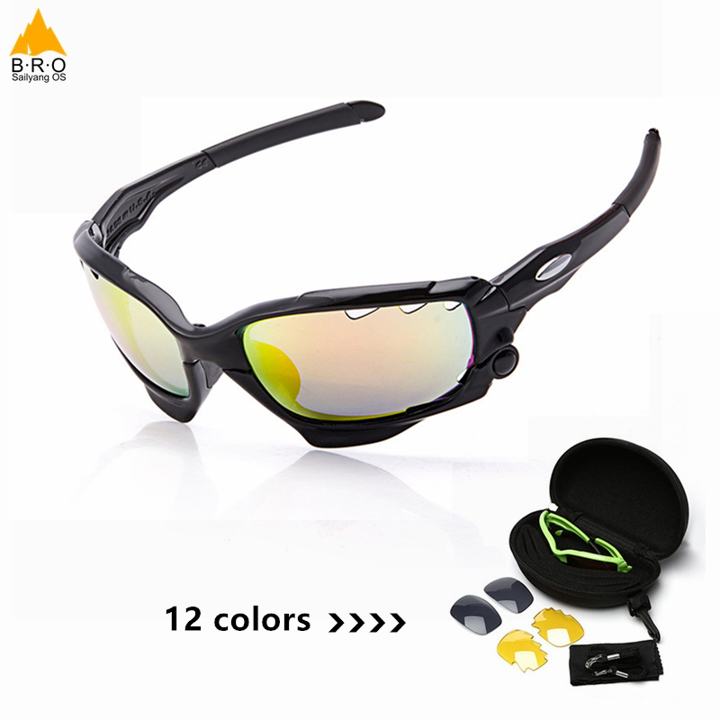 Outdoor Sports Cycling Bike Running Sunglasses UV400 Lens Goggle Glasses Eyewear