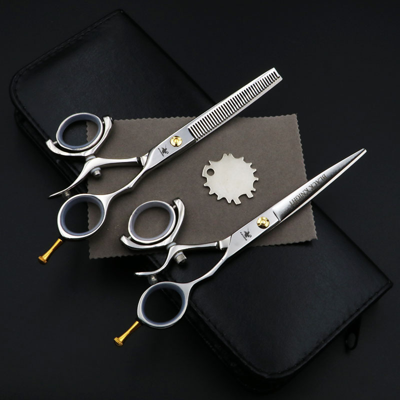 6 inch Beauty Salon Cutting Shears Tools Barber Shop Hairdressing Scissors Styling Tools Professional Hairdressing Scissors Set daniel woodroffe the beauty shop