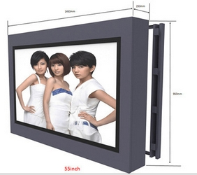 Touch Screen Frame/Panel Waterproof Infrared Outdoor Application Android Network Wifi Lcd Signage