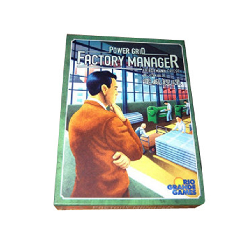 Power Grid: Factory Manager Board Game 2-5 Players To Play Good Businessman Game With Free Shipping fast free ship for gameduino for arduino game vga game development board fpga with serial port verilog code