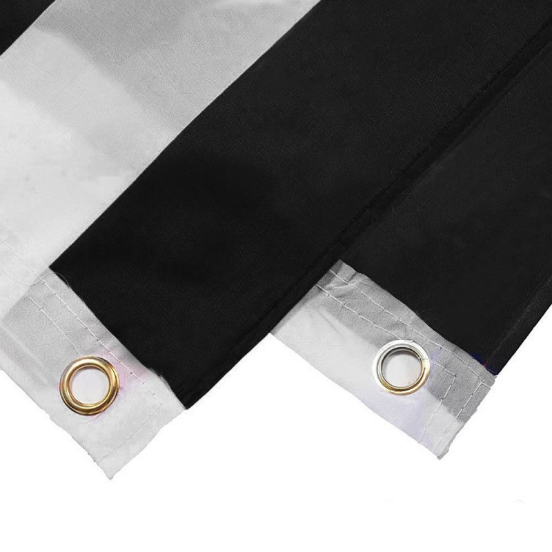 909ee954cbf56 150 90 cm Subdued Thin Blue Line Stripes USA Flags Grommets Police Cops  Flags Black White Blue Flags-in Flags