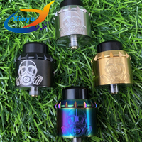 4pcs NEWEST Apocalypse GEN 25 RDA rebuildable drip electronic cigarette atomizer 24ct Gold Plated Deck 25mm stainless steel tank