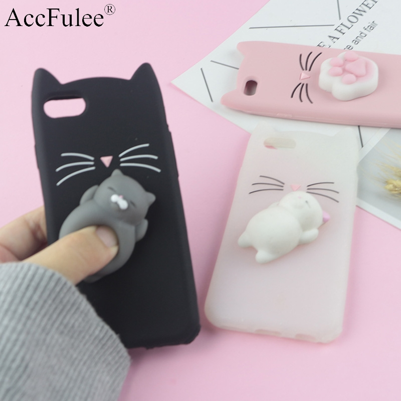 3D Cute Japan Glitter Bearded Cat Case For iphone SE 5 5S 5G 5C 6 6S 7 Plus Soft Cover Silicone Mobile Phone Bags serveware