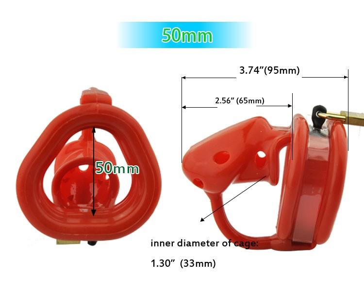 Latest-design-Reddish-Orange-Birdlocked-Pico-massage-Silicone-spikes-Massage-Male-Chastity-Small-Cage-Fixed-Ring (5)